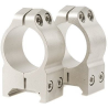 Warne Medium Maxima Scope Rings w/Silver Finish 201S
