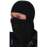 Zan Head Gear WB114V Fleece Balaclava with Velcro Closure, Black